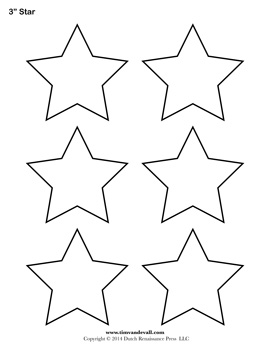 Drawn stare template cut out Templates Free Printable Star Star
