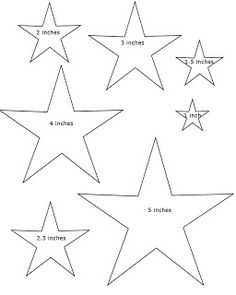 Drawn star template different Bethlehem and the  Find