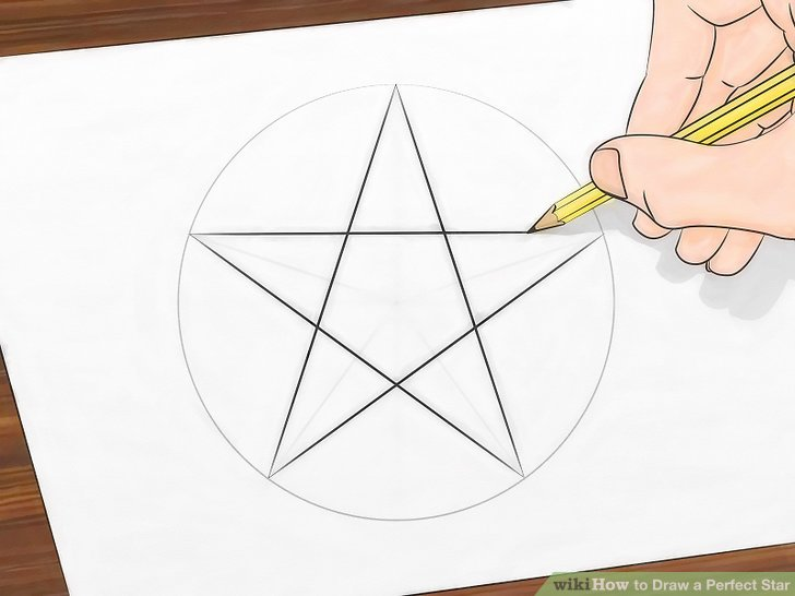 Drawn star template different Draw a 13 wikiHow Image