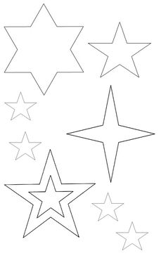 Drawn star cartoon Template Your Star 0 collection