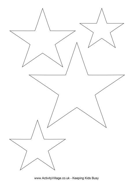 Drawn star template different 0 0 christmas star Star