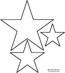 Drawn star template different To Texas Star Outline star