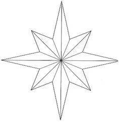 Drawn star template different Use star crafts Hopemore: More