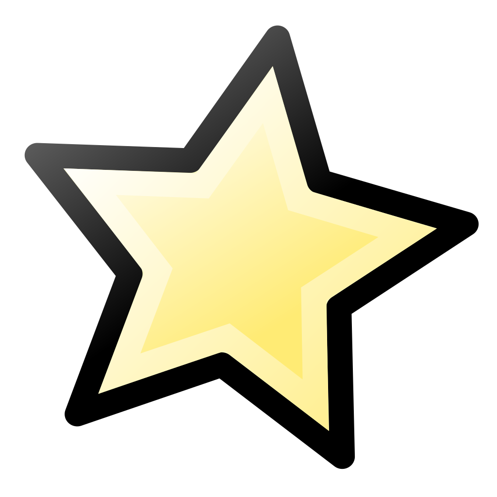 Drawn star transparent pixel  svg icons 1 star