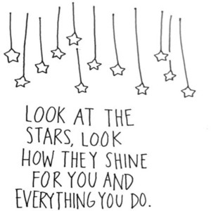 Drawn stars tumblr transparent Stars stars drawn black&white quotes