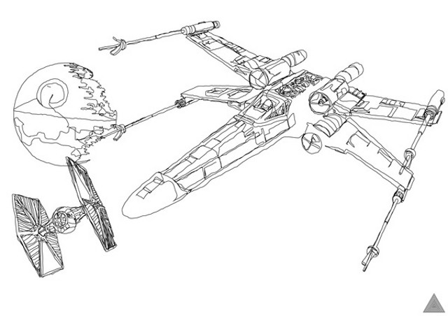 Drawn star wars Wars Star one Art One