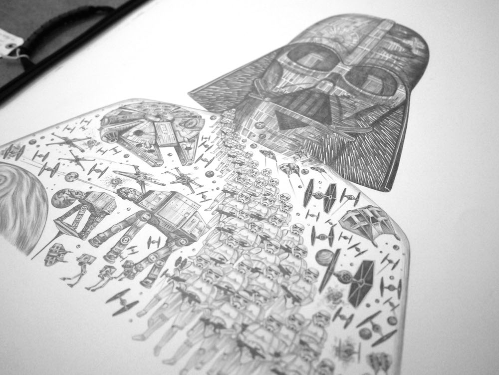 Drawn star wars The Are Shipley Star 4