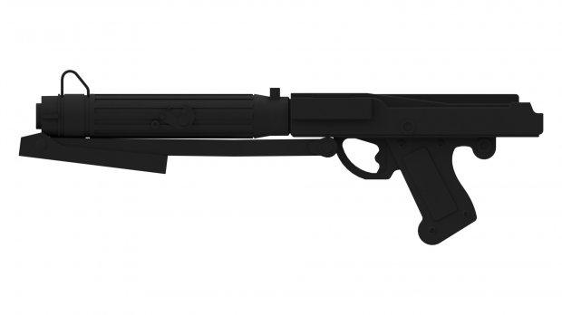 Drawn star wars blaster Wars rifle com 15s DownloadFree3D