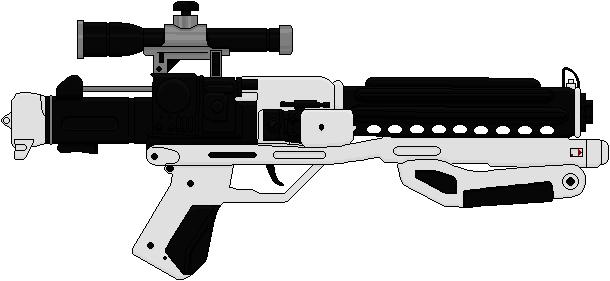 Drawn star wars blaster Wars of on rifle 11