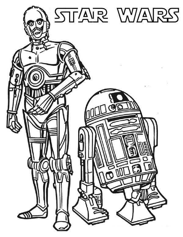 Drawn star wars c3po And From Version R2D2 C3po