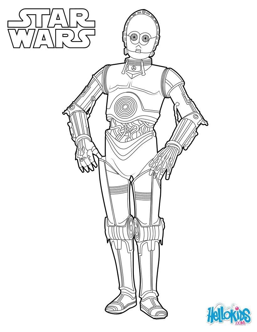 Drawn star wars c3po C3PO Free Star Capitain WARS