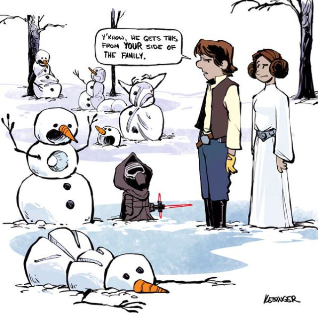 Drawn star wars calvin and hobbes Possible Calvin And out A