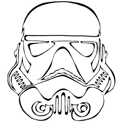 Drawn star wars continuous line Star  Storenvy Art Online
