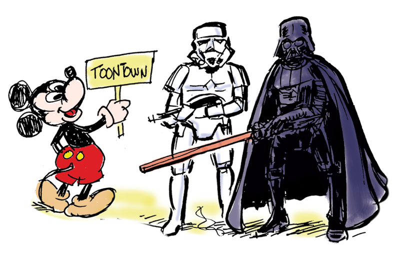 Drawn star wars disney Like now A been Land