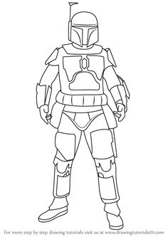 Drawn star wars full body And by a Wars actually