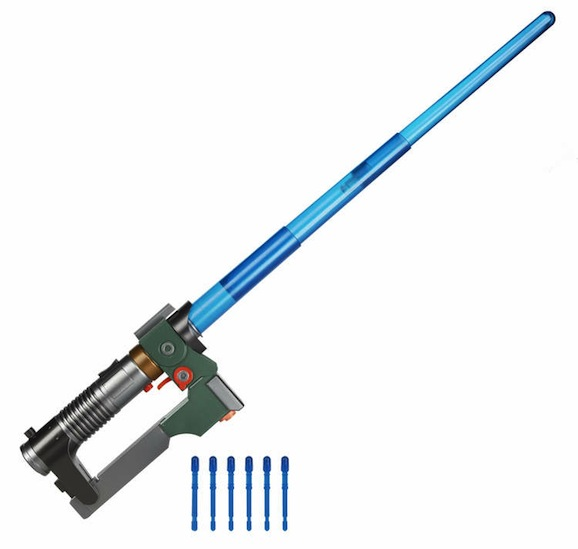 Drawn star wars lightsaber Reveals drawing toy blaster the
