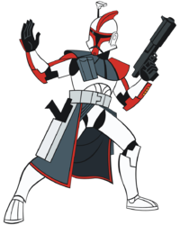Drawn star wars trooper Stormtrooper/clone : I Which trooper
