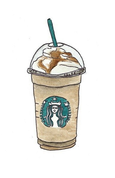 Drawn starbucks #2