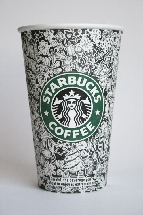 Drawn starbucks #13