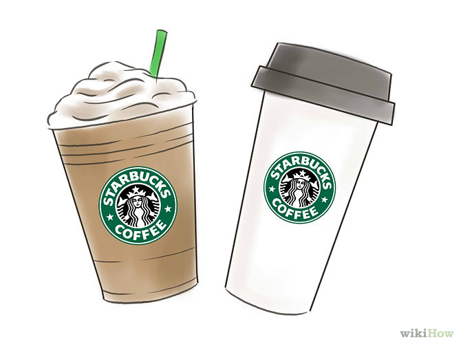Drawn starbucks #5