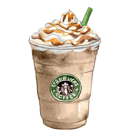 Drawn starbucks #7