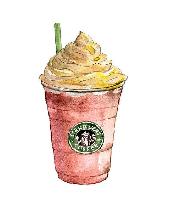 Drawn starbucks #3