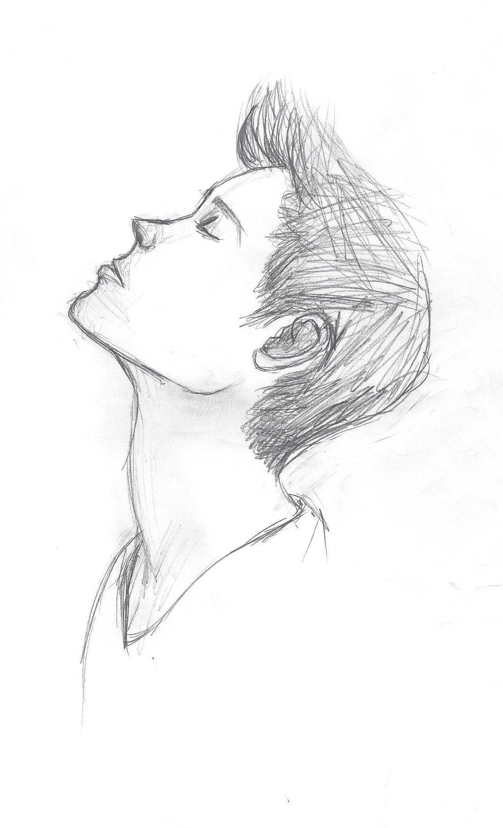 Drawn ballerine man easy … easy More drawing easy