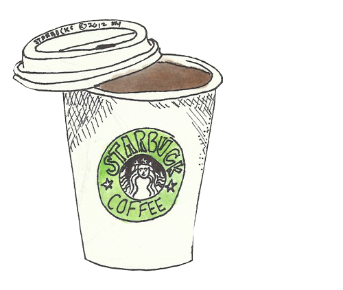 Drawn starbucks clipart tumblr Bing  Wallpapers for on
