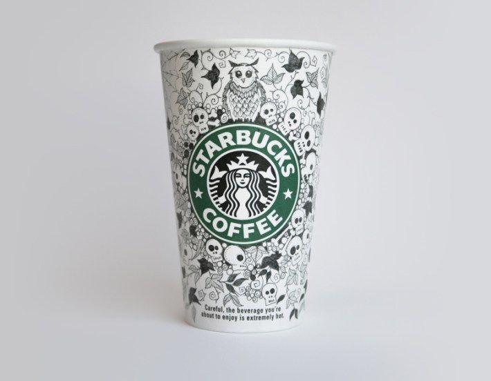 Drawn starbucks cofee #design på Cup bästa Design