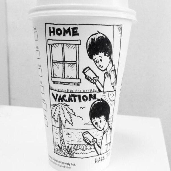 Drawn starbucks cofee Entertaining every starbucks Starbucks cups