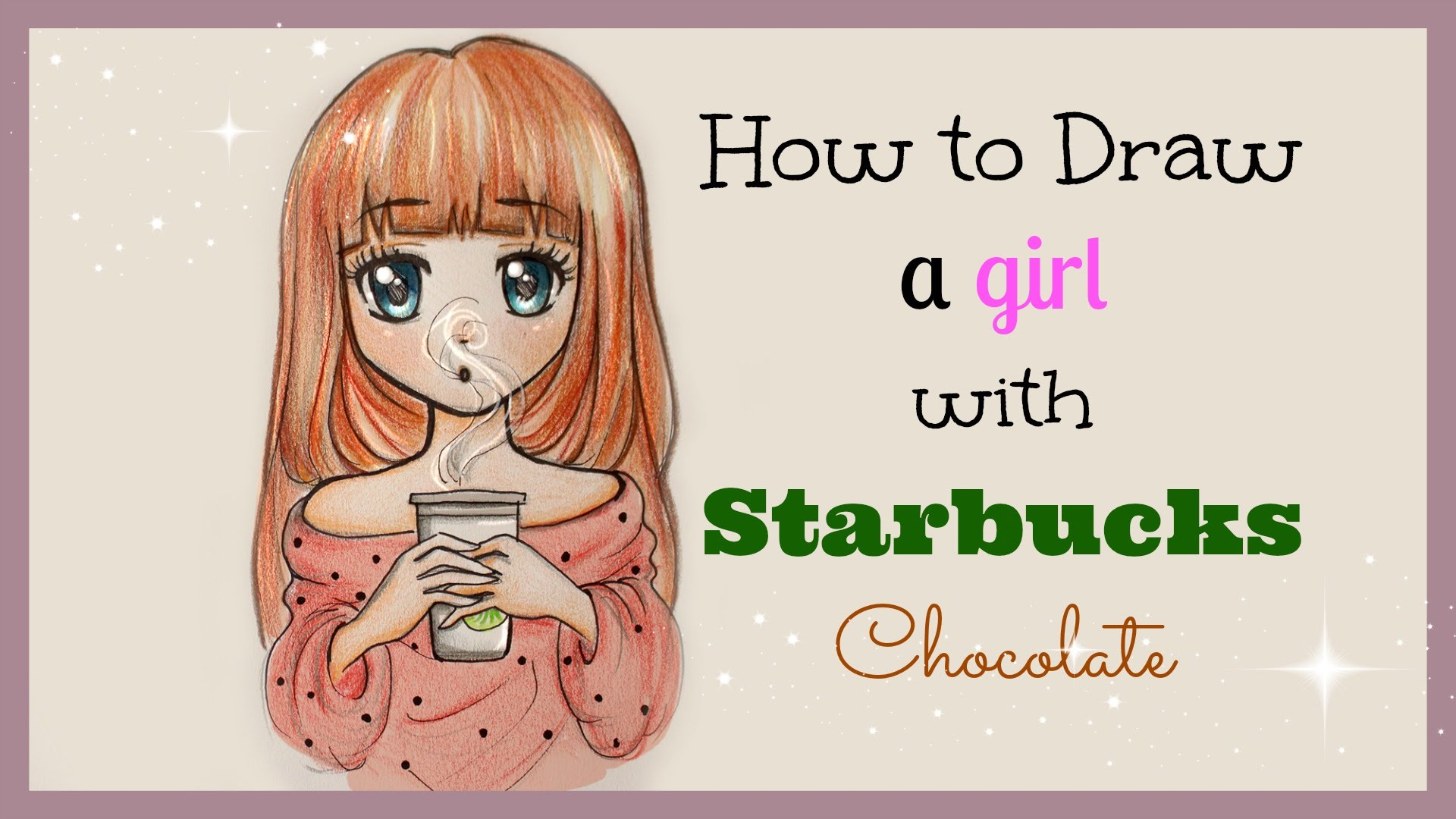Drawn chocolate girly Drawing ❤ draw to to