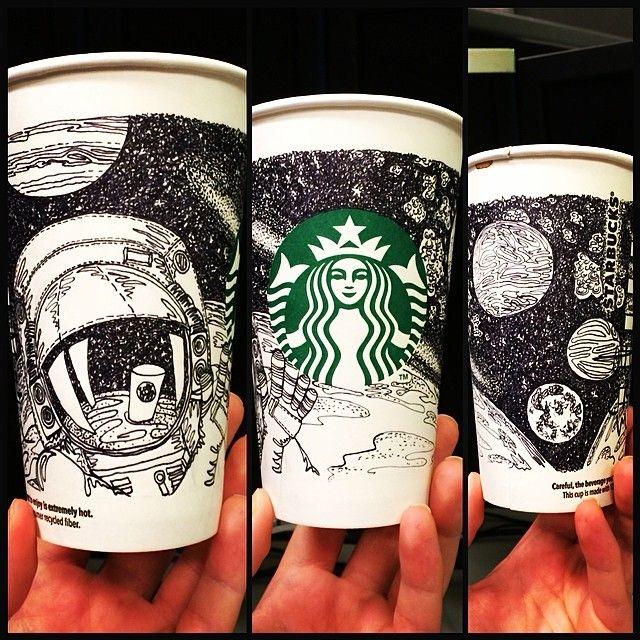 Drawn starbucks doodle Ideas