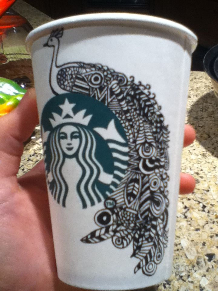 Drawn starbucks doodle Best drawing on Pin and