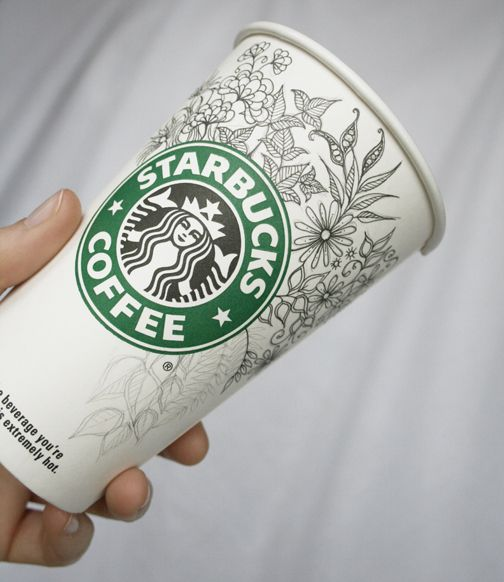 Drawn starbucks doodle Best cups! at this! And