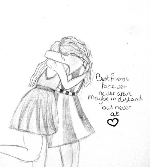 Drawn quote best friend Image this Pinterest for drawing