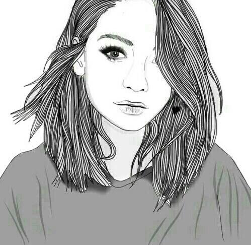 Drawn starbucks hair Image and ✰ Pinterest girl