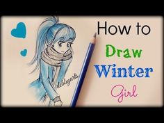Drawn starbucks hair  to girl hot chocolate