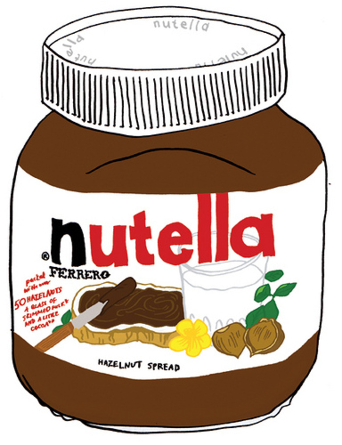 Nutella clipart cartoon To Nutella Starbucks how order