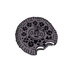 Oreo clipart black and white Oreo Oreos  cute wallpaper