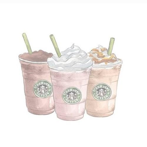 Drawn starbucks pink tumblr Explore Tumblr Art Coffee more!