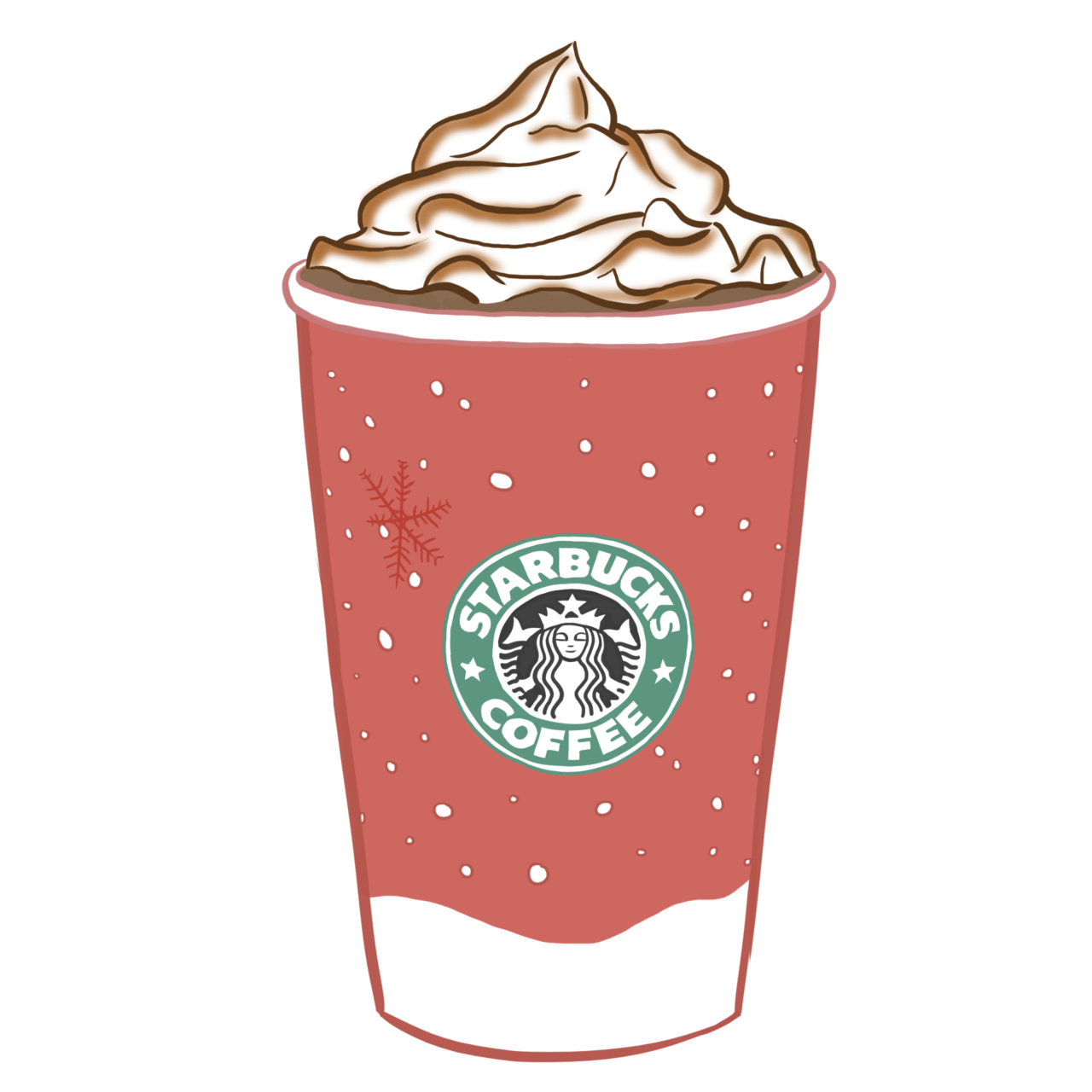 Pink clipart starbucks Journaling Transparent For For Tumblr
