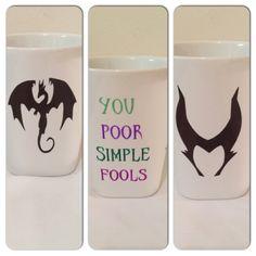 Drawn starbucks simple Villains (s Drawn Inspired Maleficent