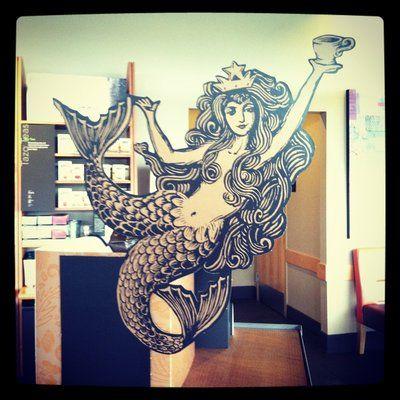 Drawn starbucks tail Coffee versions Pinterest Starbucks of