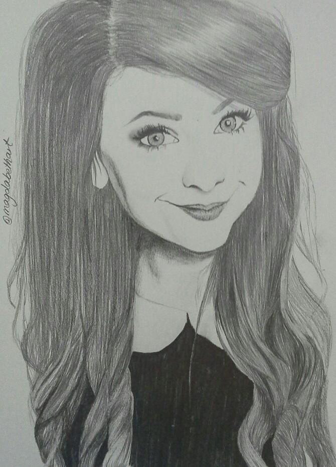 Drawn starbucks zoella #zoesugg #drawing Zoe Sugg #instagram