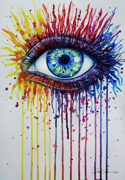 Drawn stare crayon Best Crayon images Pinterest 153