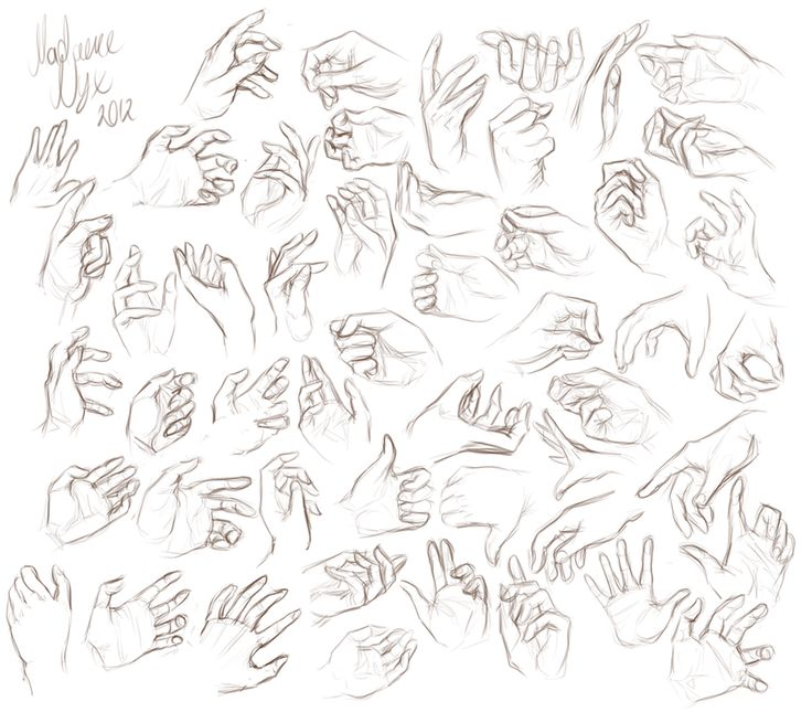 Drawn stare hand drawn Best Reference Hands images 169