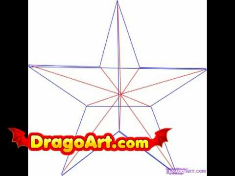 Drawn stare nautical A Style Step Star How