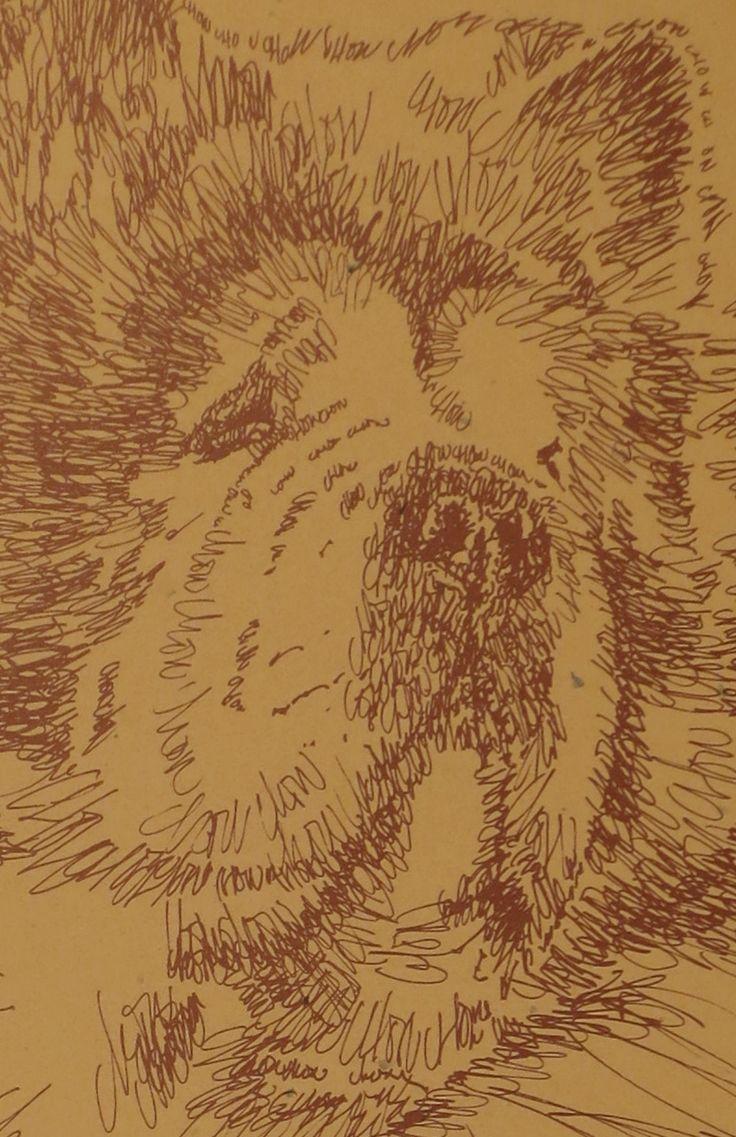 Drawn stare plain Chow dog portraits portraits photographs