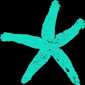 Drawn starfish blue starfish Clip Clipart Blue Starfish Starfish