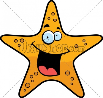 Drawn starfish cartoon Starfish%20drawing Clipart Starfish Free Panda